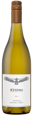 10 Span Vineyards Chardonnay Central Coast